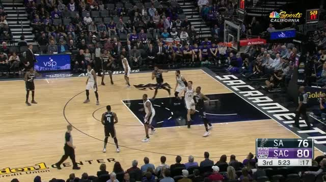 Watch and share Sacramento Kings GIFs and Basketball GIFs by prejuce on Gfycat