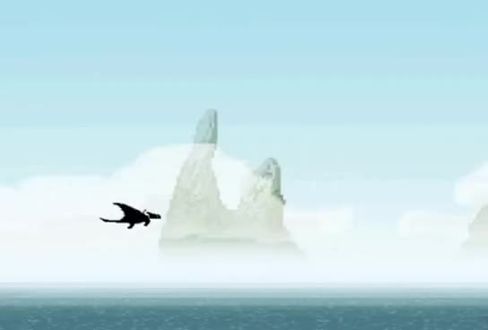 Watch and share Toothless Flying.GIF GIFs on Gfycat