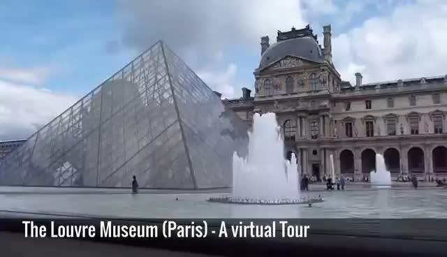 Watch and share Musée Du Louvre (Paris) - A Virtual Tour Through The Louvre Museum In Paris, France GIFs on Gfycat