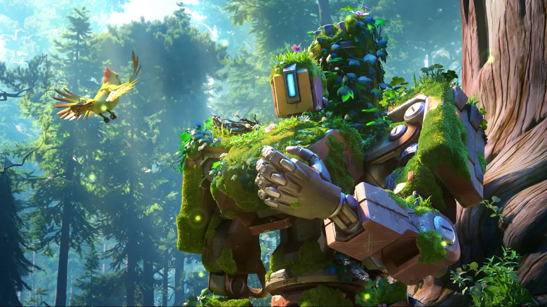 bastion, cinematic, overwatch, Bastion GIFs