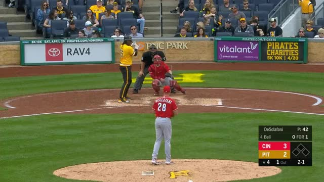 Watch and share Cincinnati Reds GIFs and Baseball GIFs by _ben_clemens on Gfycat