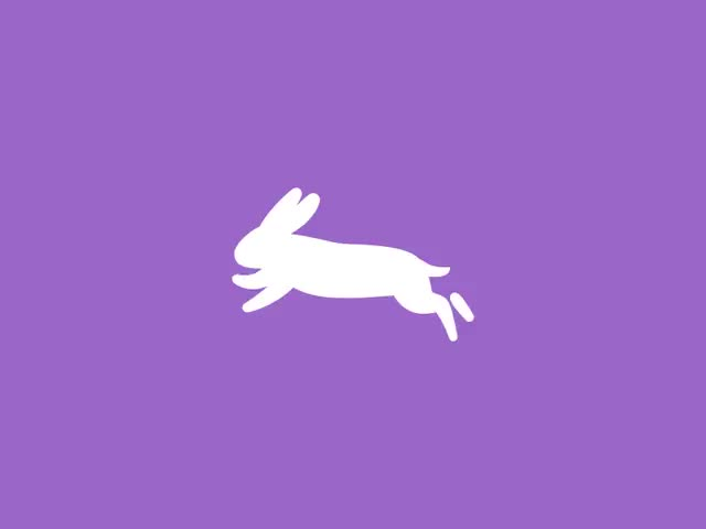 Watch and share Rabbit Vector Animation Dribbble GIFs on Gfycat