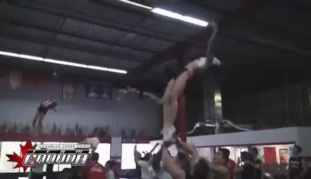 Watch basket GIF on Gfycat. Discover more cheerleading, team canada GIFs on Gfycat