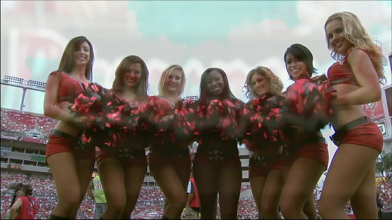 dance, nfl, Tampa Bay Buccaneers cheerleaders GIFs