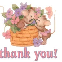 Watch and share TY - Thank U Mice animated stickers on Gfycat