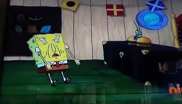 Watch and share Spongebob - Eh... Eh... Eh... Eh GIFs on Gfycat