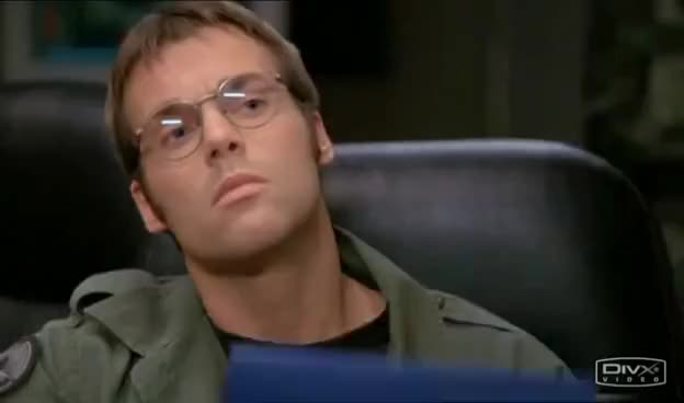 Watch and share Daniel Jackson GIFs and Sg1 GIFs on Gfycat