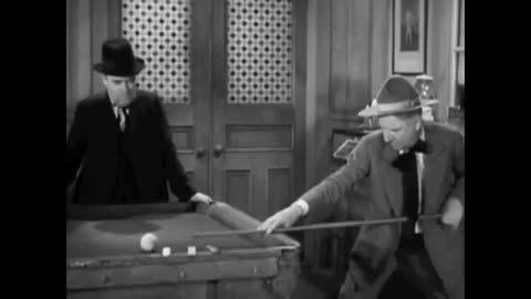 WC Fields snooker sketch GIFs