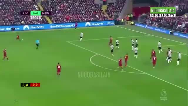 Watch and share Lovren Volley Goal Vs Newcastle 18-19 GIFs by FIFPRO Stats on Gfycat