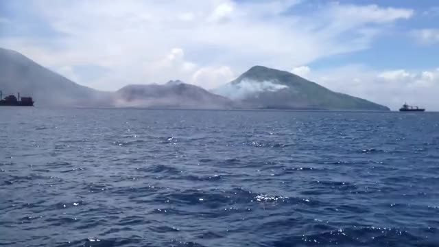 Watch and share Volcanic Eruption Shock Wave GIFs on Gfycat