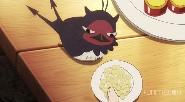 Watch nom nom nom birb GIF by Funimation (@funimation) on Gfycat. Discover more Black Clover, Black Clover Episode 30, Funimation, action, anime GIFs on Gfycat