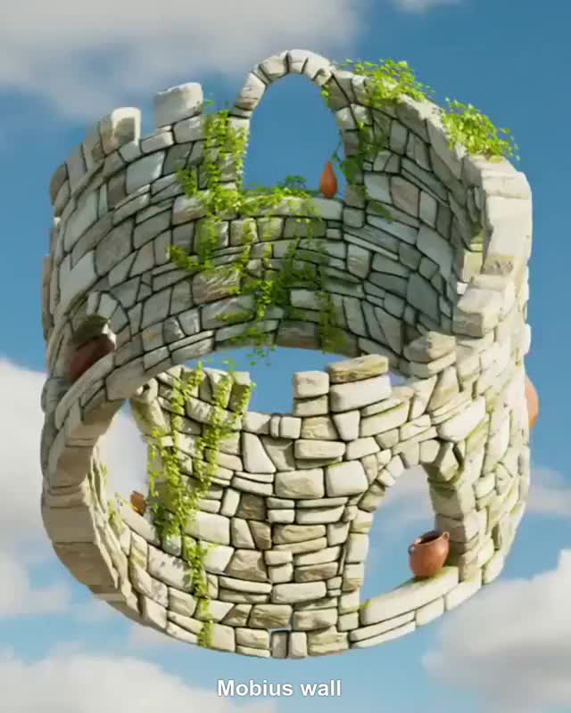 Watch and share Mobius Wall GIFs by Mahmoud M. Mahdali on Gfycat