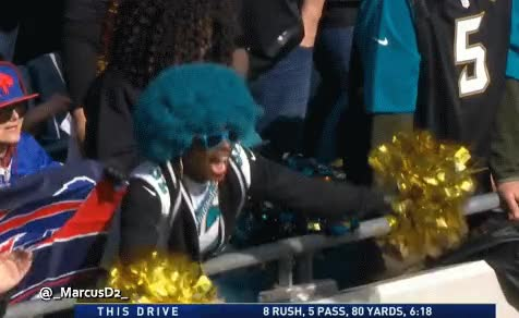 Watch and share Jacksonville Jaguars Fan  GIFs by MarcusD on Gfycat
