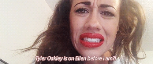 colleen ballinger, mine, miranda sings, tyler oakley, Tyler Oakley.. Well of course I know this bae. GIFs