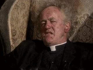 Watch and share Father Ted Angry Face GIFs on Gfycat