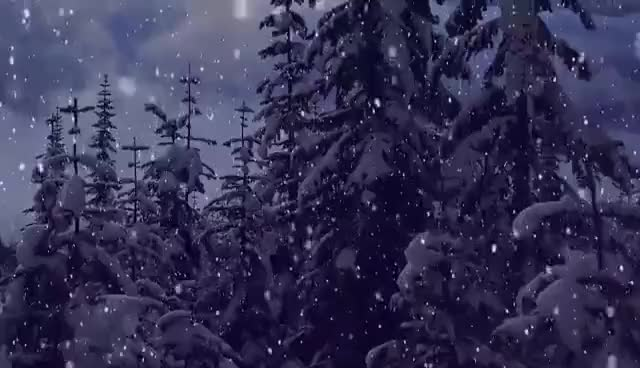 Watch and share Snow Falling Motion Effect - Christmas  Background Video GIFs on Gfycat