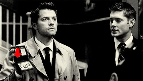 Watch and share Jensen Ackles GIFs and Misha Collins GIFs on Gfycat