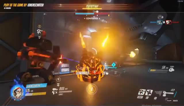 Watch Torbjörn Epic Outplay POTG GIF on Gfycat. Discover more related GIFs on Gfycat
