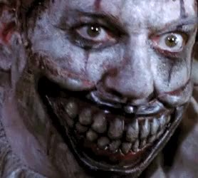 Watch and share Scary Clown Pictures-twisty The Clown GIFs on Gfycat