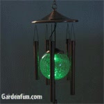 Watch and share Copper Solar Wind Chime GIFs on Gfycat