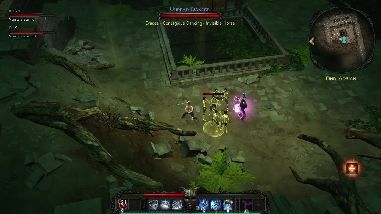 dance, dancing, skeletons, switch, victor vran, Dancing with skeletons GIFs