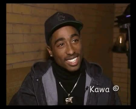 Watch and share Tupac Smile GIFs on Gfycat