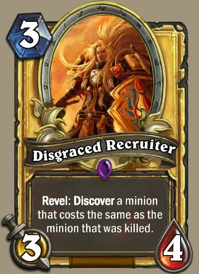 customhearthstone, Disgraced Recruiter GIFs