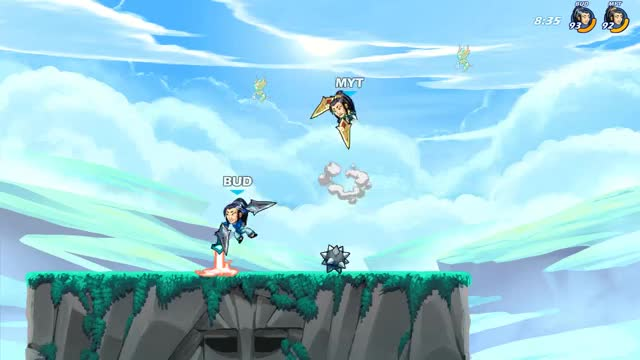 Watch and share Brawlhalla GIFs by budgerr on Gfycat