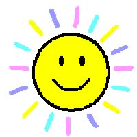 Watch and share Sunshine Smile animated stickers on Gfycat