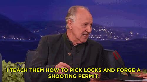 Werner Herzog On His Film School Curriculum GIFs