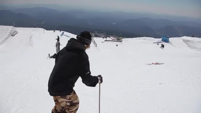 Watch and share Freeskier GIFs and Mt Hood GIFs by Newschoolers on Gfycat