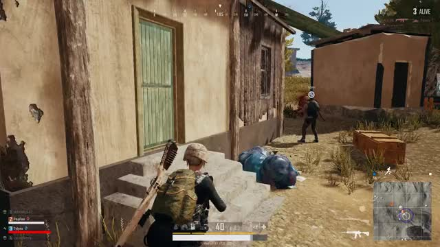 Watch and share Vlc-record-2018-04-09-22h08m26s-PLAYERUNKNOWN GIFs on Gfycat