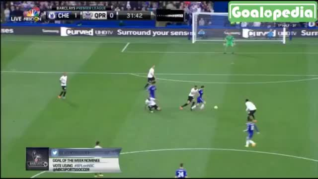 Watch Chelsea Goal of the Season: Oscar outside of the boot curler from the right vs QPR (reddit) GIF by @omar on Gfycat. Discover more soccer GIFs on Gfycat