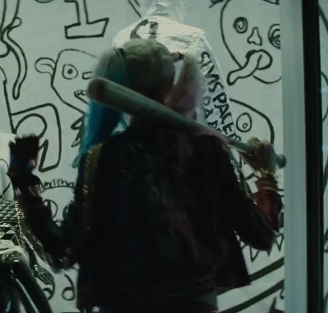 Watch and share Suicide Squad GIFs and Harley Quinn GIFs by Defunct on Gfycat