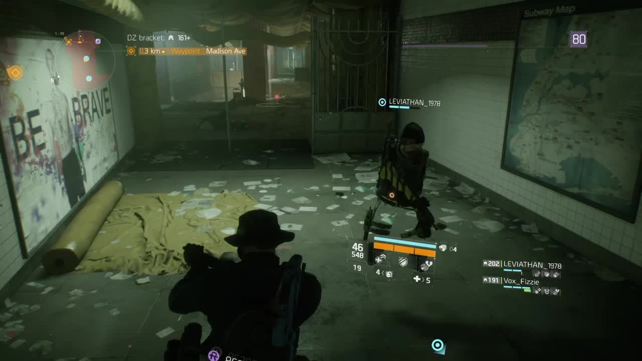 thedivision, Steve is armless in the Dark Zone GIFs