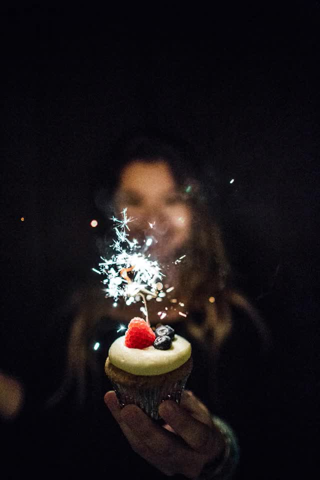 Watch and share Vanilla Cupcakes With Lilikoi Butter And Mascarpone Frosting GIFs on Gfycat
