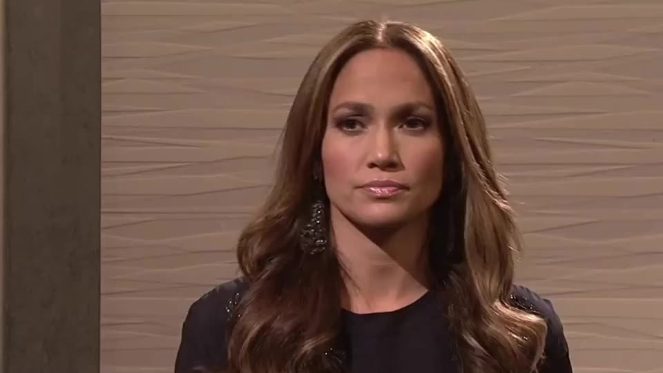 Jennifer Lopez, disappointed, funny, jennifer, lopez, not, snl, sure, think, wait, wonder, Jennifer Lopez - Saturday Night Live GIFs
