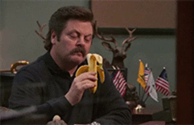 Watch and share Nick Offerman GIFs and Parks And Rec GIFs by Reactions on Gfycat