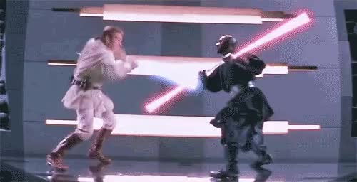 Watch and share Lightsaber GIFs and Star Wars GIFs on Gfycat
