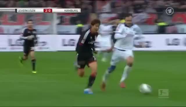 Watch and share Heiko Westermann And The Post - FAIL (Bundesliga) GIFs on Gfycat