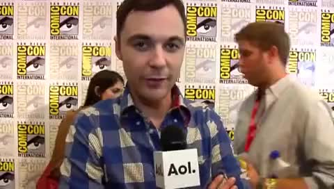 Watch this trending GIF on Gfycat. Discover more Jim, Parsons, smile GIFs on Gfycat