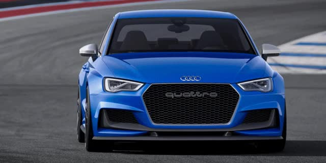 Watch and share 3.6s A3 ClubSport Concept Packs 517 Horsepower And 192MPH Vmax GIF Header 3.6s Audi A3 ClubSport Quattro Concept Packs 517 Horsepower And 192MPH Vmax GIFs on Gfycat