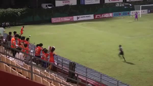 Watch Fabian Kwok of Singapore League Geylang International scores a stunning volley goal from the halfway mark (reddit) GIF on Gfycat. Discover more singapore, soccer GIFs on Gfycat