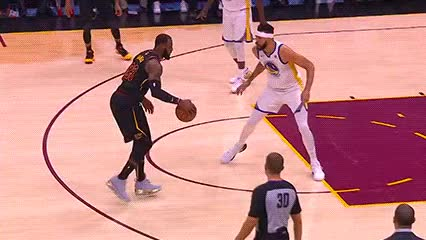 Watch and share LeBron James — Cleveland Cavaliers GIFs by Off-Hand on Gfycat