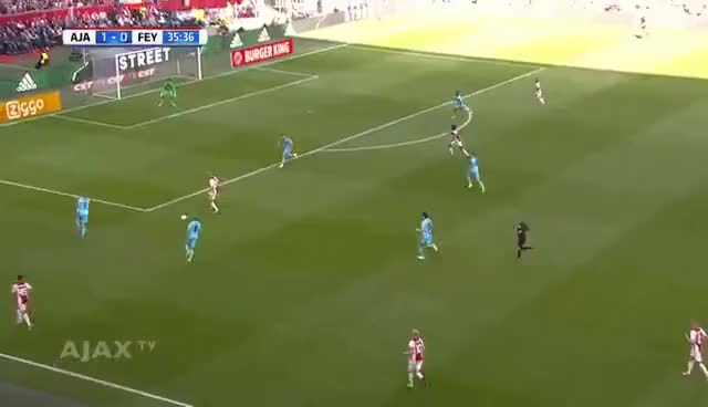 Watch and share Highlights Ajax - Feyenoord GIFs on Gfycat
