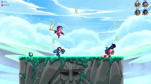 Watch and share Brawlhalla GIFs by kermituh on Gfycat