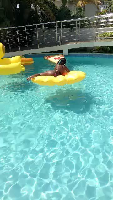 berniceburgos, Pool Day (Gifs In Comment) (reddit) GIFs