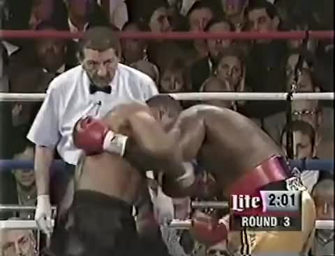 Watch Mike Tyson VS Buster Mathis Jr 1995-12-16 GIF on Gfycat. Discover more related GIFs on Gfycat