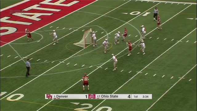 Watch Ohio State plays zone defense against Denver GIF by Lacrosse Film Room (@laxfilmroom) on Gfycat. Discover more lacrosse GIFs on Gfycat
