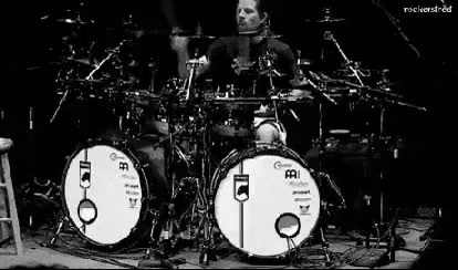 Watch and share Chris Adler GIFs and Drummer Gif GIFs on Gfycat